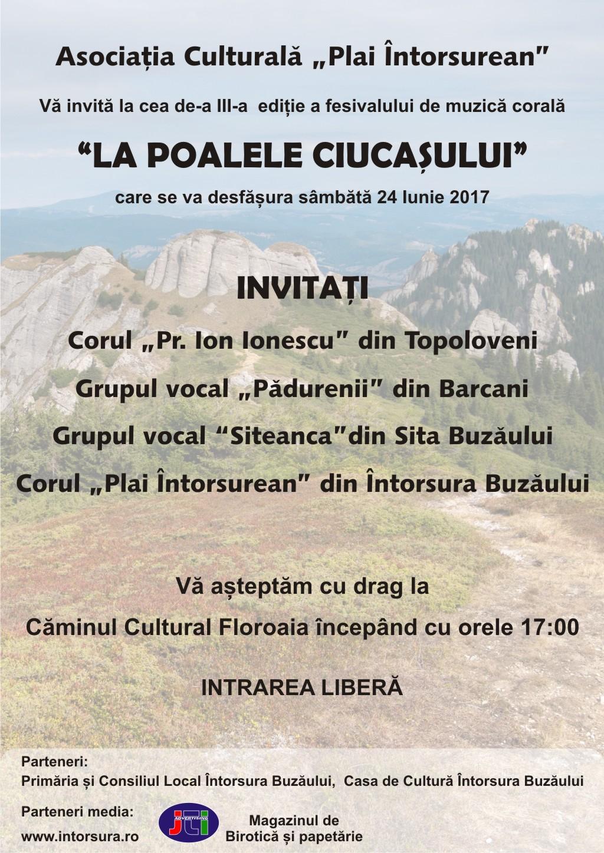 Festivalul de muzica corala La poalele Ciucasului