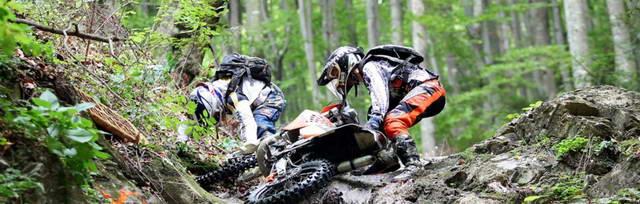 Setarea suspensiilor la motocicletele enduro